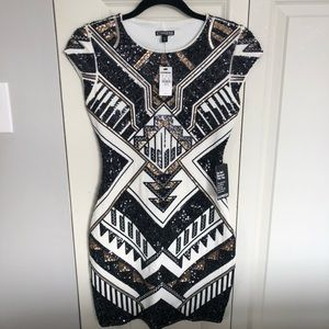 Sequin Express Dress Brand New With Tags